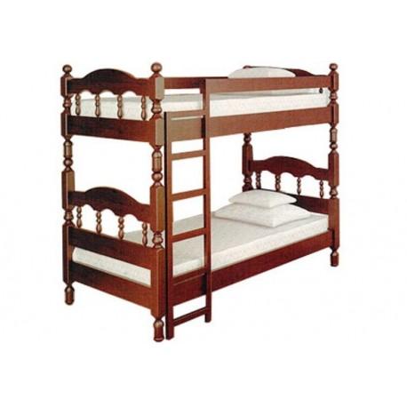 Двухъярусная кровать Точеная