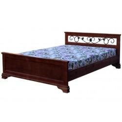 Кровать Лира с ковкой